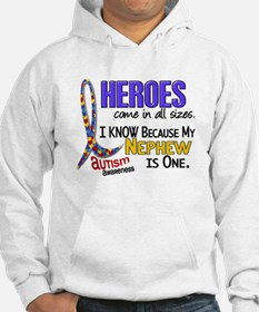 Heroes All Sizes Autism Hoodie