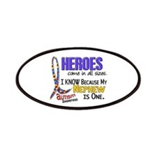 Heroes All Sizes Autism Patches