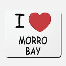 I heart morro bay Mousepad