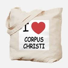 I heart corpus christi Tote Bag
