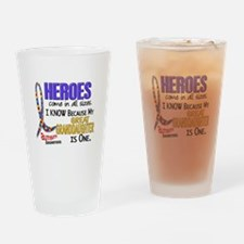 Heroes All Sizes Autism Drinking Glass