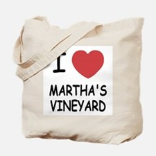 I heart martha's vineyard Tote Bag