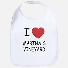 I heart martha's vineyard Bib