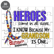 Heroes All Sizes Autism Puzzle