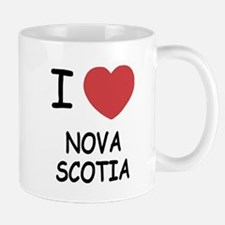 I heart nova scotia Mug