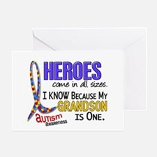 Heroes All Sizes Autism Greeting Card