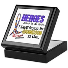 Heroes All Sizes Autism Keepsake Box