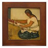 Diego rivera Framed Tiles