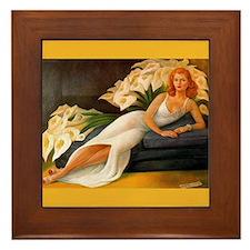 Diego Rivera Natasha Art Framed Tile