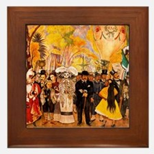 Diego Rivera Art Framed Tile Alameda Park Dream