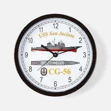 USS San Jacinto CG-56 Wall Clock