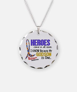 Heroes All Sizes Autism Necklace