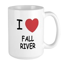 I heart fall river Mug
