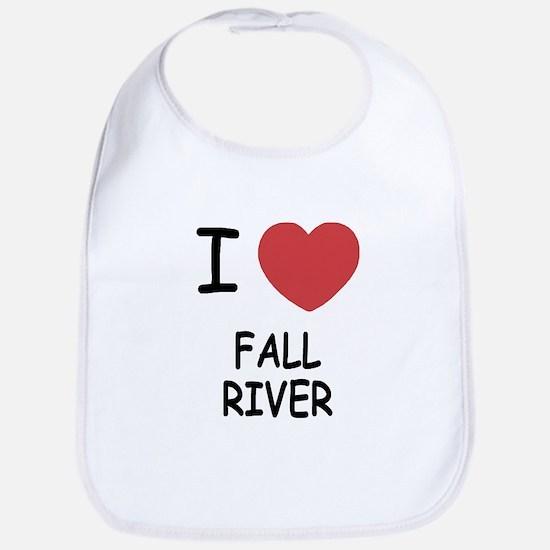 I heart fall river Bib