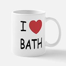 I heart bath Mug