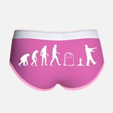 Zombie Evolution Women's Boy Brief