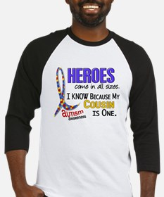 Heroes All Sizes Autism Baseball Jersey