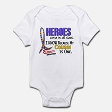 Heroes All Sizes Autism Infant Bodysuit