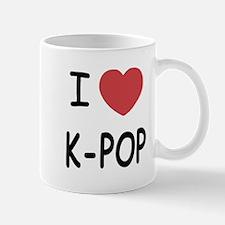 I heart k-pop Mug