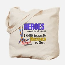 Heroes All Sizes Autism Tote Bag