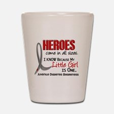 Heroes All Sizes Juv Diabetes Shot Glass