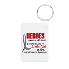 Heroes All Sizes Juv Diabetes Keychains