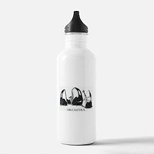 Cute Killer whale Water Bottle
