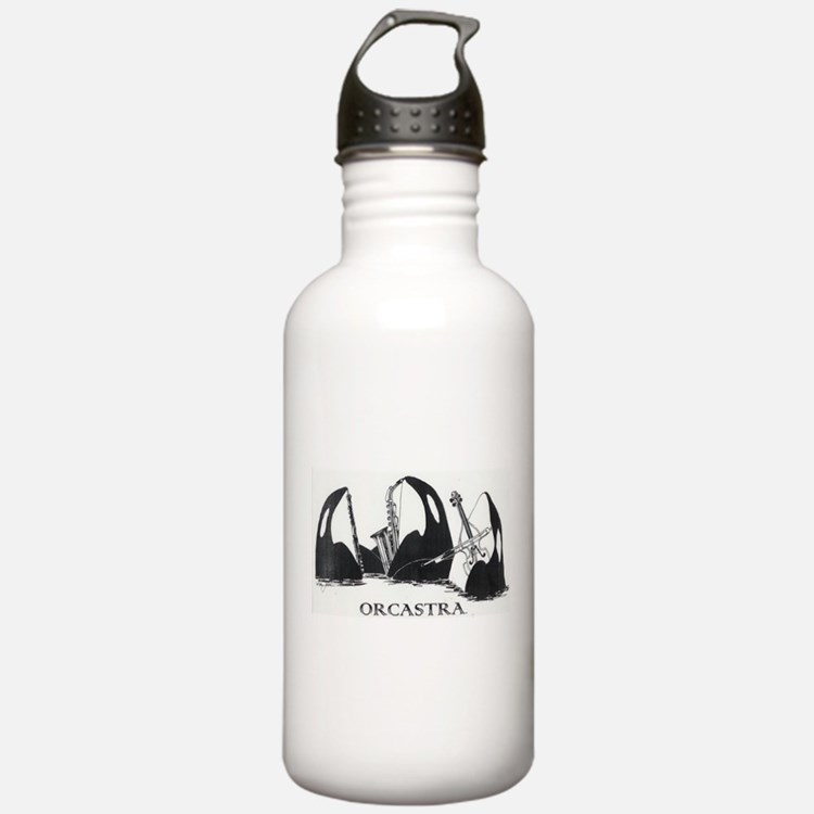 Cute Orca Water Bottle