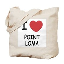 I heart point loma Tote Bag