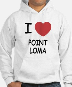 I heart point loma Hoodie