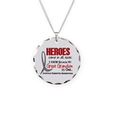 Heroes All Sizes Juv Diabetes Necklace