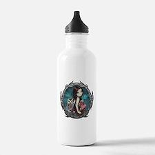 Autumn Owl and Fairy Water Bottle