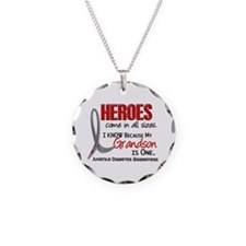 Heroes All Sizes Juv Diabetes Necklace Circle Char