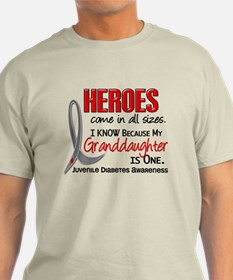 Heroes All Sizes Juv Diabetes T-Shirt