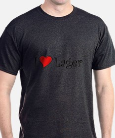 I Love Lager T-Shirt