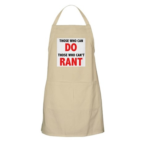 Those Who Can, Do BBQ Apron
