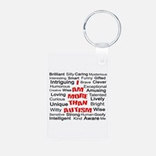 I am More Than Autism Keychains