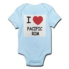 I heart pacific rim Infant Bodysuit