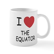 I heart the equator Mug