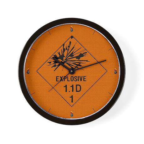 """10"""" Explosive 1.1D Wall Clock"""