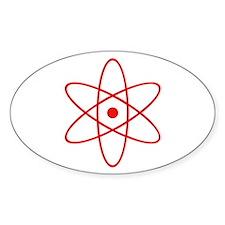 Nucular Atomics Oval Decal