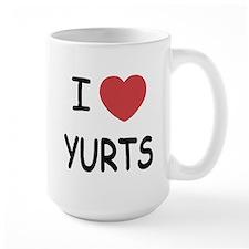 I heart yurts Mug