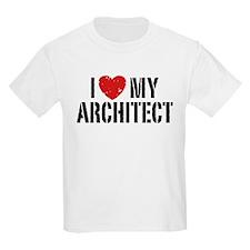 I Love My Architect T-Shirt