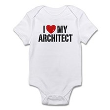 I Love My Architect Infant Bodysuit