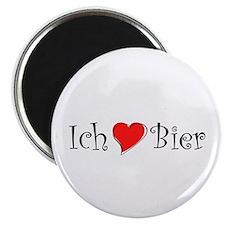 Ich liebe Bier Magnet