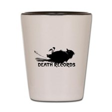 Death Records Shot Glass