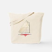 Cape Cod Catboat Tote Bag
