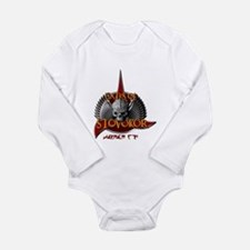 Cute Star trek klingon Long Sleeve Infant Bodysuit