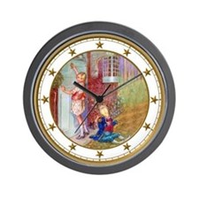 Alice Visits the Duchess Wall Clock