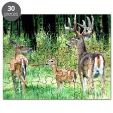 Whitetail Deer Family Puzzle